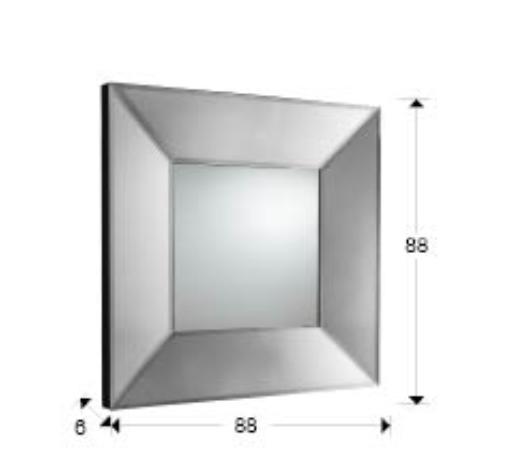 Schuller milan miroir 88x88cm 386234e l mparas de dise o for Schuller miroir