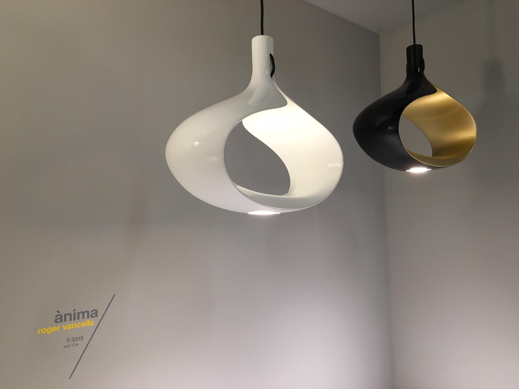 Estiluz Ànima Lámpara Colgante LED 10W Negro Y