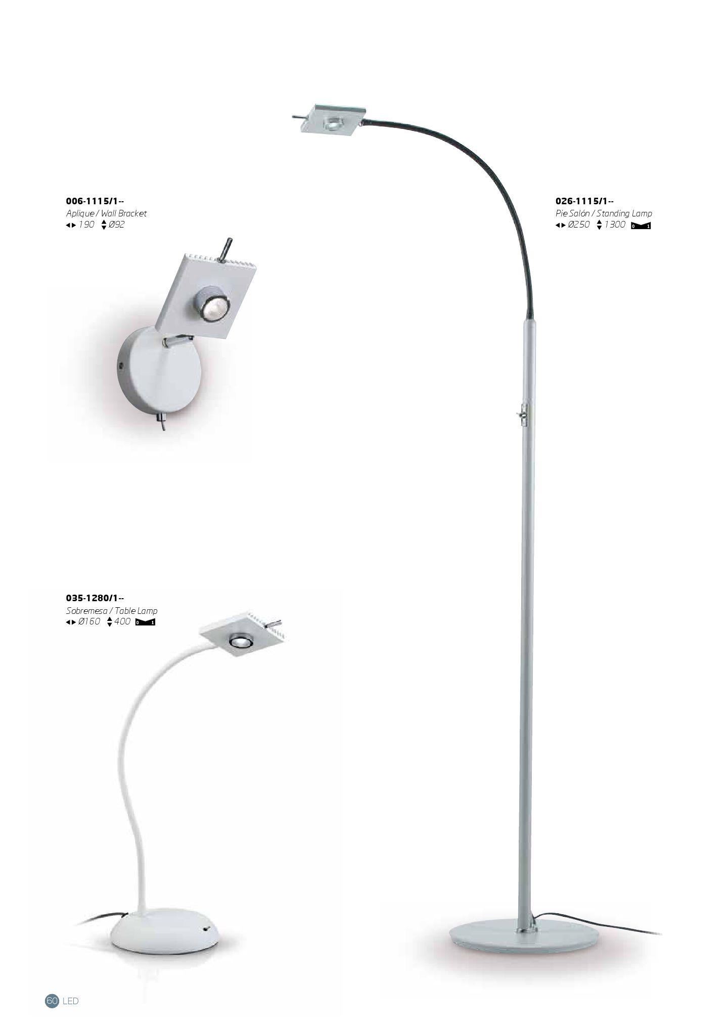 Rogu Rotula Gala Wall Lamp 1 Light White 006 1115 1 080