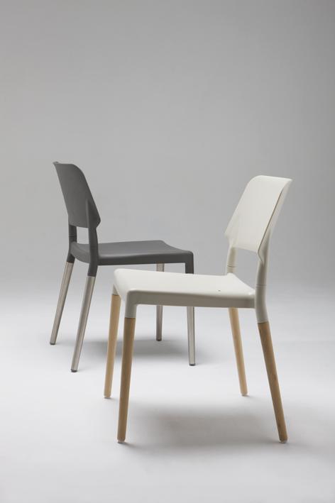 Santa cole belloch silla polipropileno y haya bes11 for Sillas de diseno chile