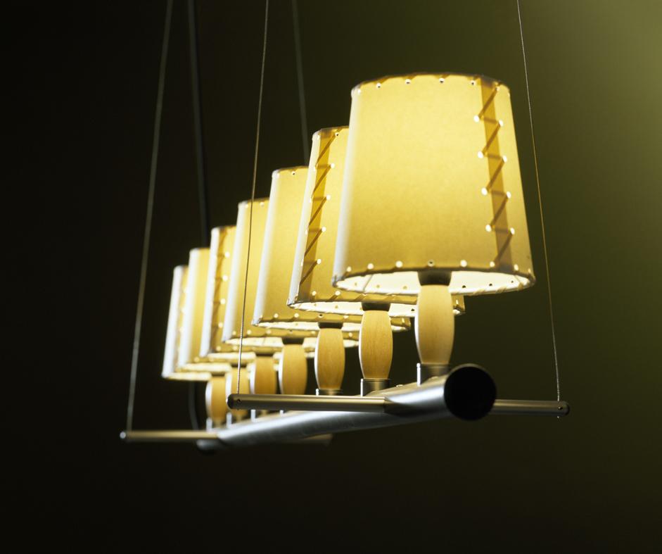 Santa cole sistema fonda solo struktur tubular fon23 l mparas de dise o - Santa cole iluminacion ...