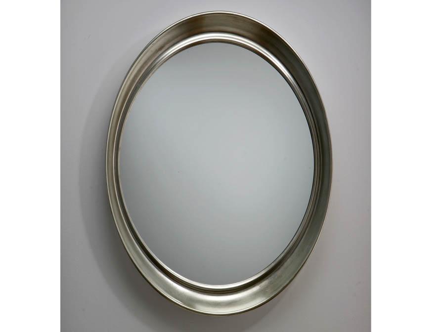 Schuller espejo ovalado pan de plata 308010 l mparas de for Espejo ovalado de pie