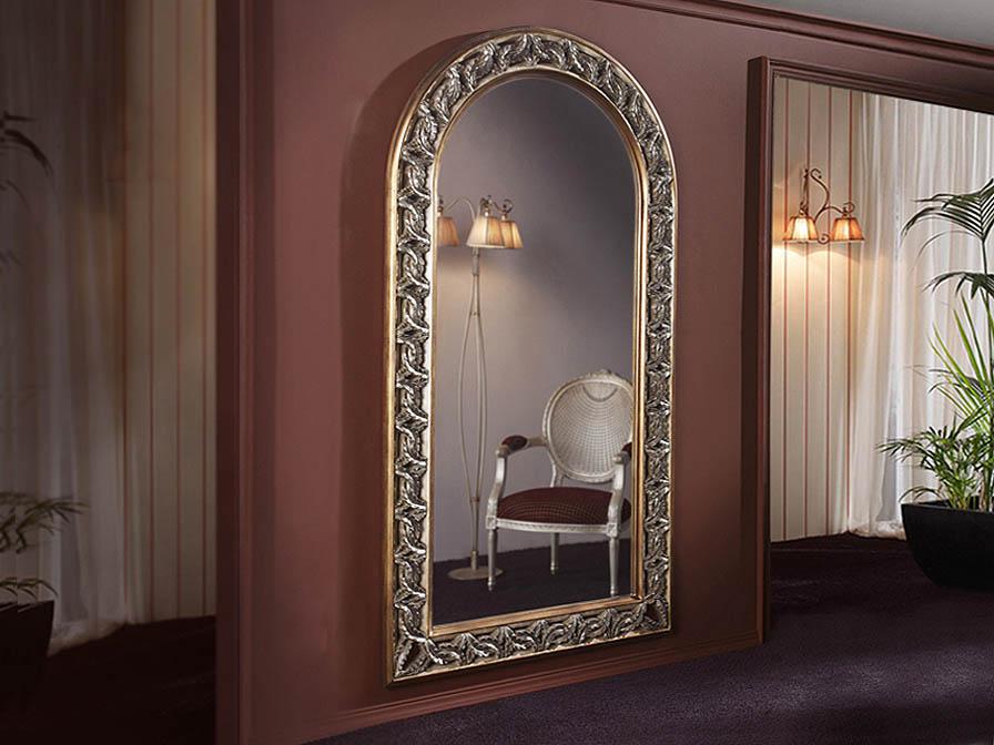 Schuller miroir vertical cadre tallado feuille 308719 for Miroir online shop