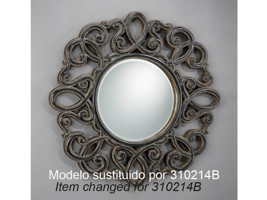 Schuller miroir ronde projet de cadre 310214b l mparas for Schuller miroir