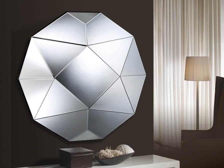 Schuller artico espejo cuadrado redondo grande 385617 - Espejos con formas ...