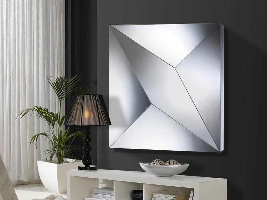 Schuller artico espejo cuadrado peque o 385819 l mparas for Espejos cuadrados pequenos