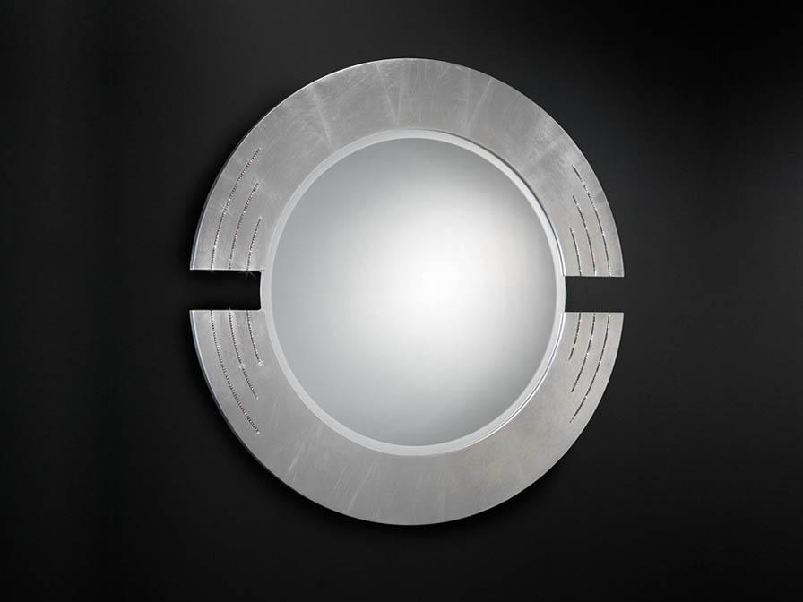 Schuller luxury miroir rcos ronde feuille 71413482 for Schuller miroir