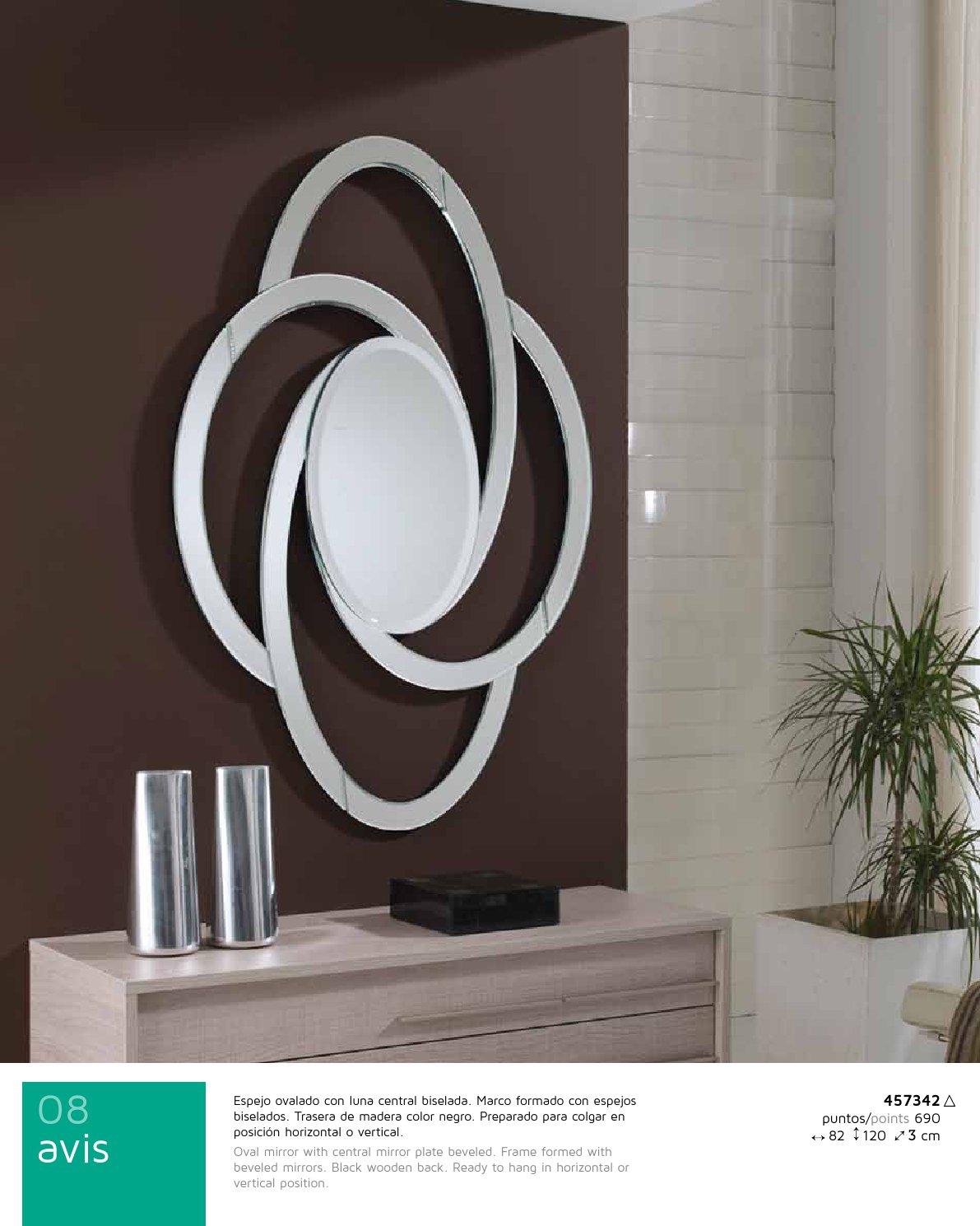 Abis miroir ovale Schuller Image