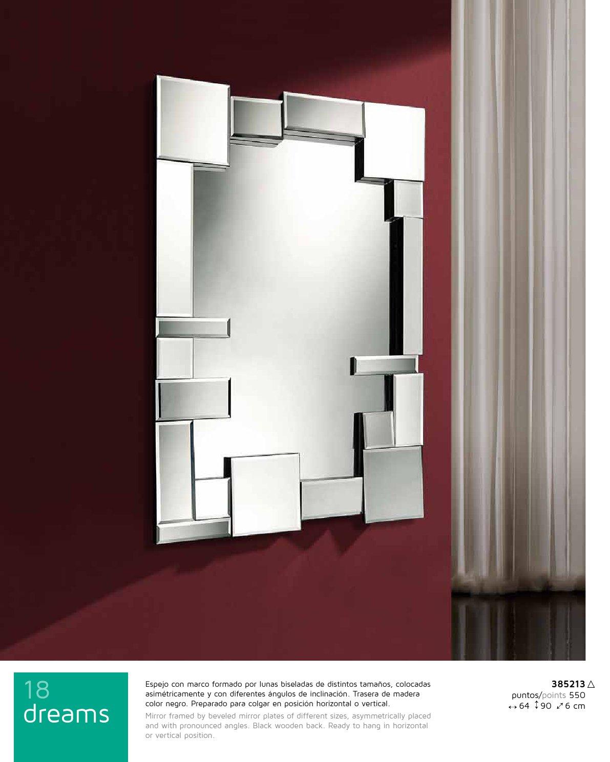 Schuller dreams miroir 90x66cm 385213 l mparas de dise o for Schuller miroir