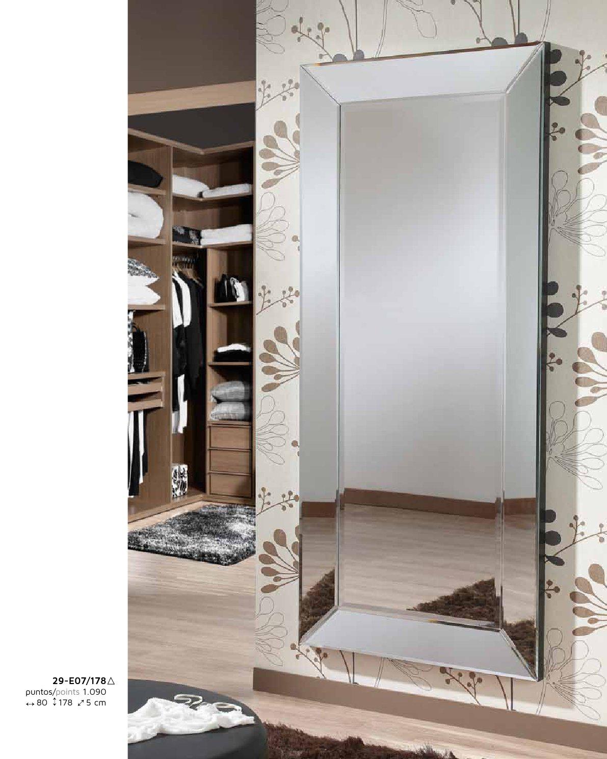 Schuller roma miroir 178x80cm 29 e07 178 for Schuller miroir