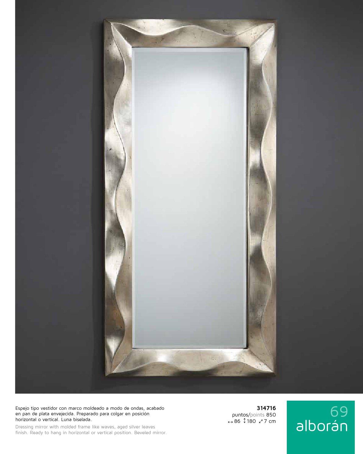 Schuller alboran miroir rectangulaire cadre 314716 for Schuller miroir