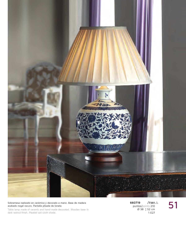 Schuller keramik tischleuchte wei blau mit 660719 7381 for Keramik tischleuchte