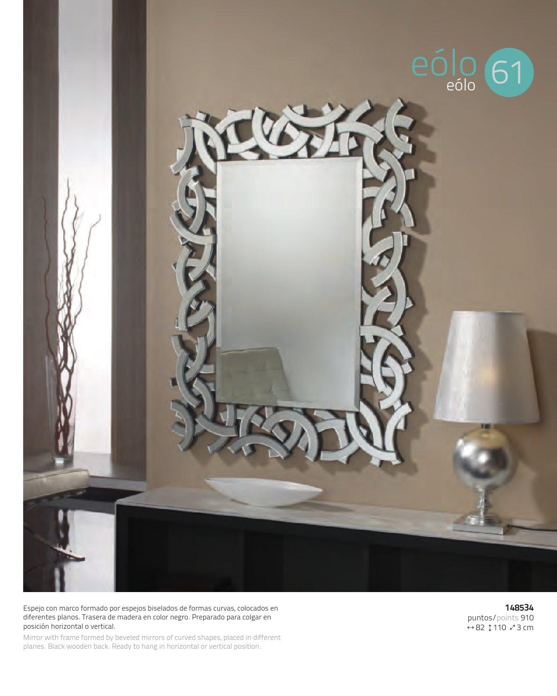 Schuller eolo miroir rectangulaire 148534 l mparas de dise o for Schuller miroir