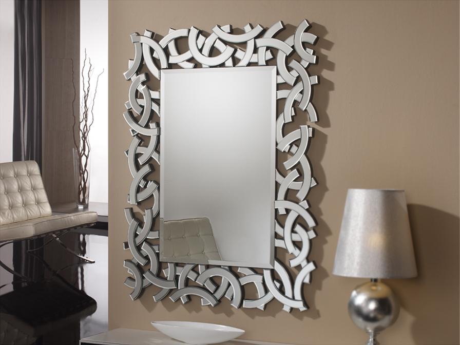 Schuller eolo espejo rectangular 148534 l mparas de dise o for Marcos de espejos en madera modernos