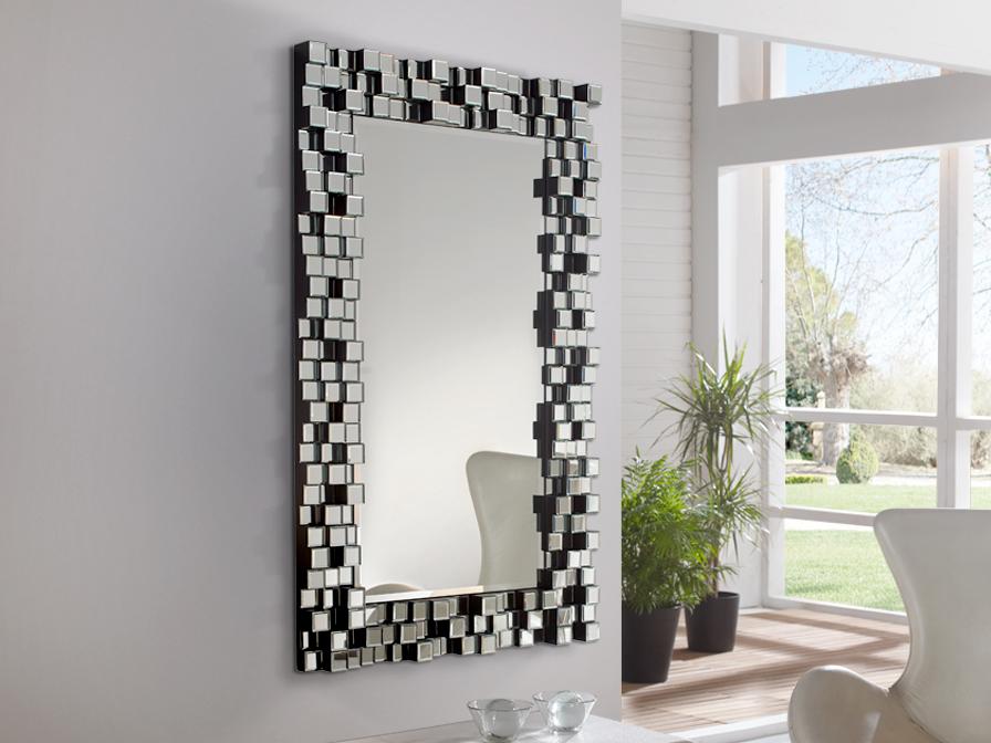 Schuller cosmo espejo rectangular 151x90cm 169273 for Como hacer espejos vintage