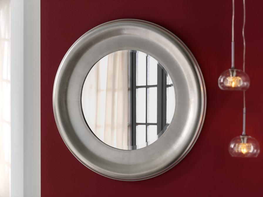 Schuller aral miroir argent ronde 851726 l mparas de dise o for Schuller miroir