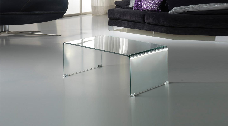 Imagen 1 De Glass Couchtisch 110x40x60 Transparent