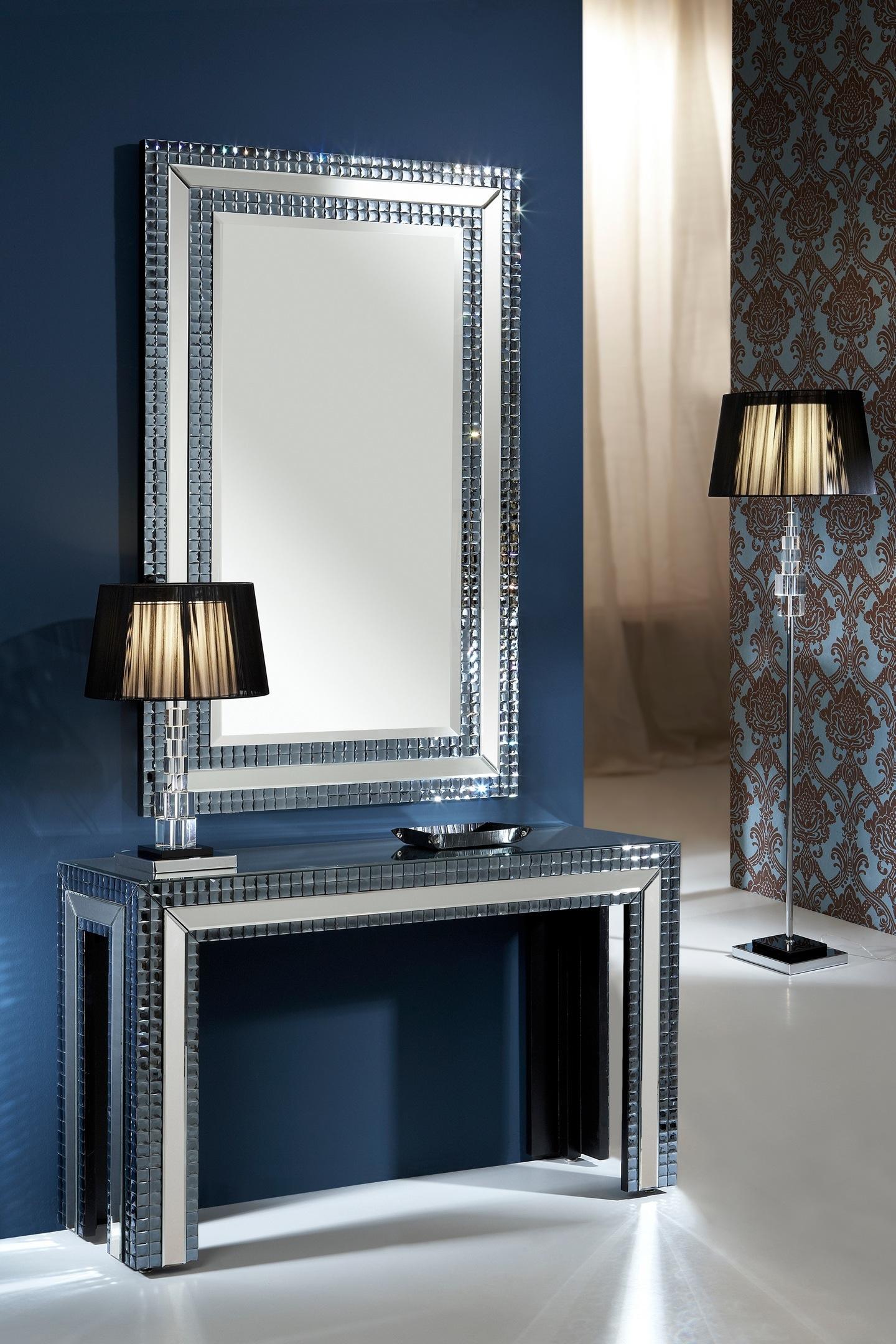 Schuller brooklyn miroir rect ngulo indigo 121932 for Schuller miroir