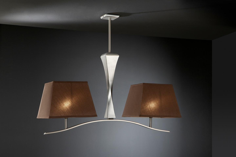 Schuller Deco Lampada da tavolo Foglia di argento 661530-7367 ...