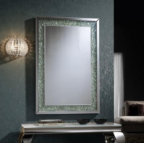 Schuller amaya miroir 120x80cm pierres 774418 l mparas for Schuller miroir