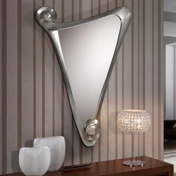Schuller gala espejo peque o plata 672580 l mparas de dise o - Lamparas para espejos ...