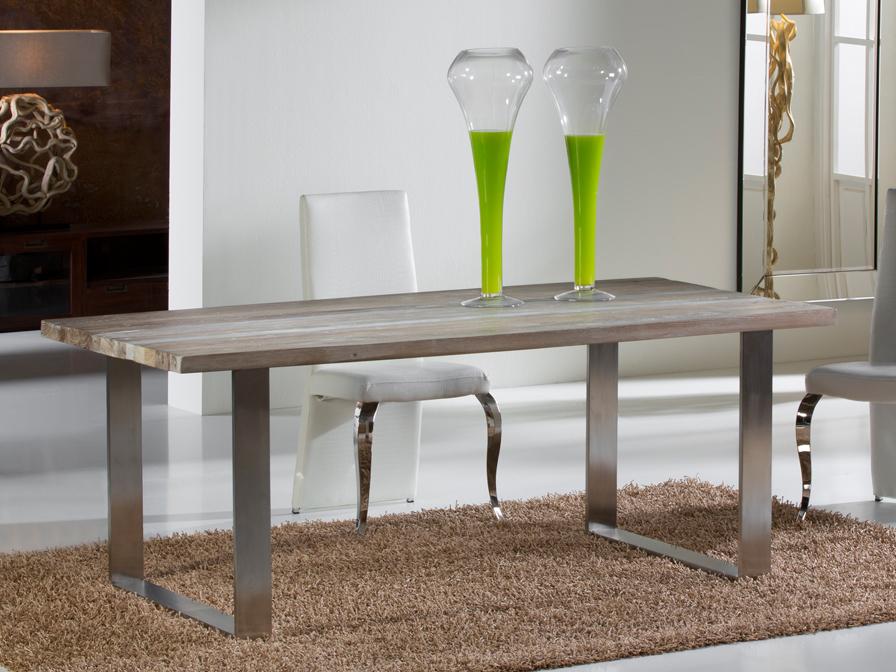 Schuller Pirena 200 mesa de comedor Acero y 543519 - Lámparas de diseño