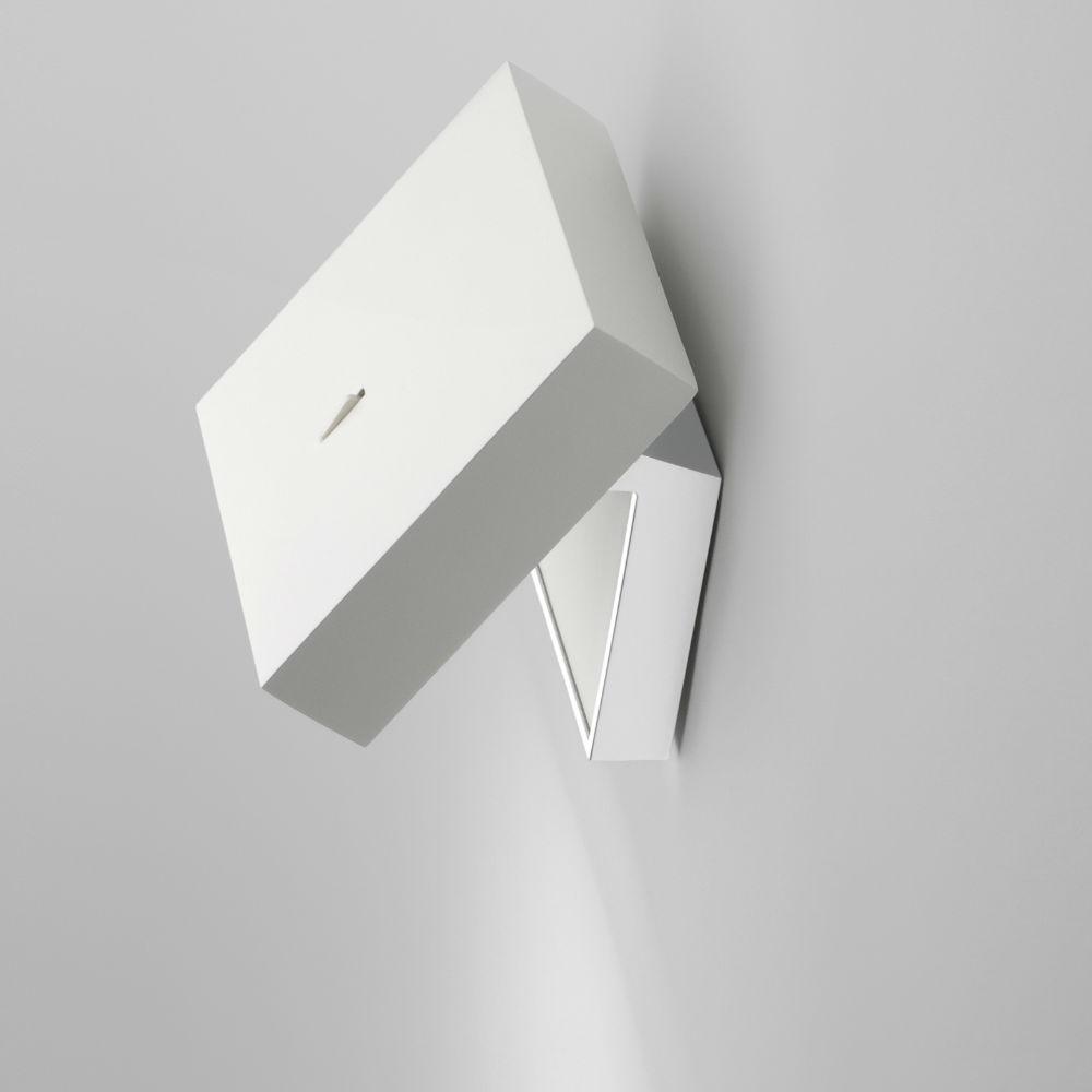 Vibia Alpha applique lettura laccato bianco opaco e cromo 7940-03