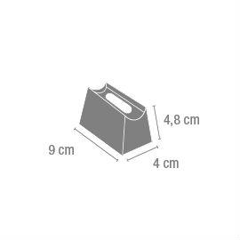 Linestra Aplique de baño níquel Mate (6 unidades) Vibia Foto