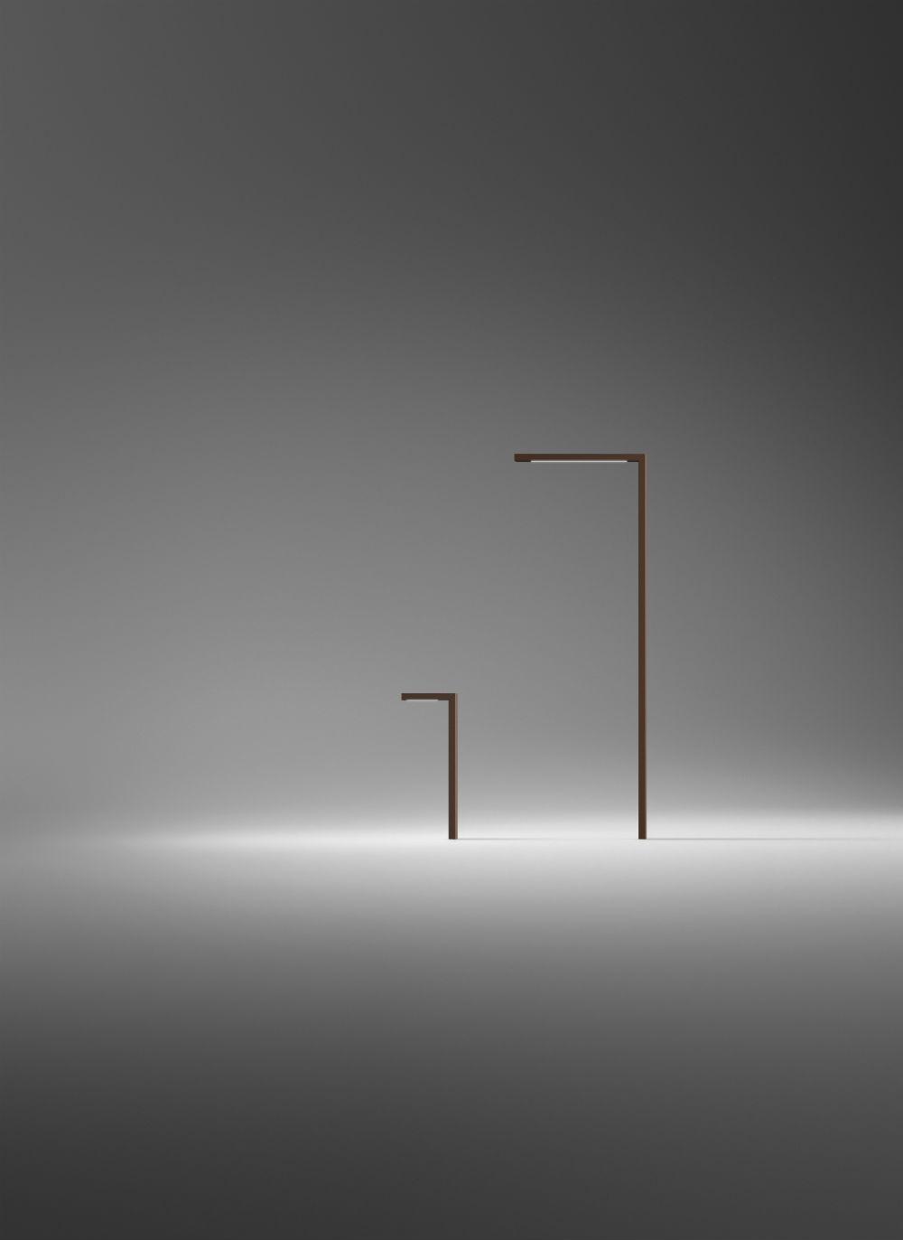 vibia courb lev lampadaire angulo recto 4515 07. Black Bedroom Furniture Sets. Home Design Ideas
