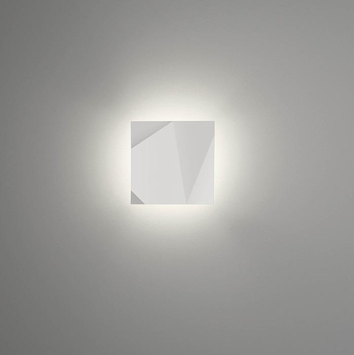 Vibia origami applique modulo b laqu blanc 4501 03 - Applique origami ...
