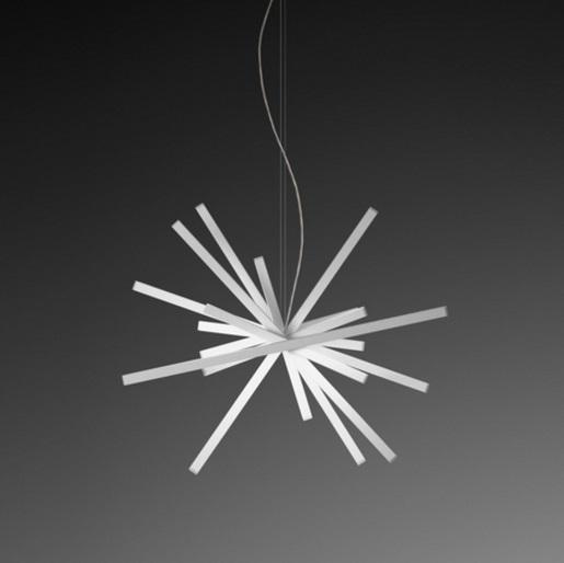 Vibia Rhythm Pendant Lamp Horizontal 10 2130 14 L 225 Mparas