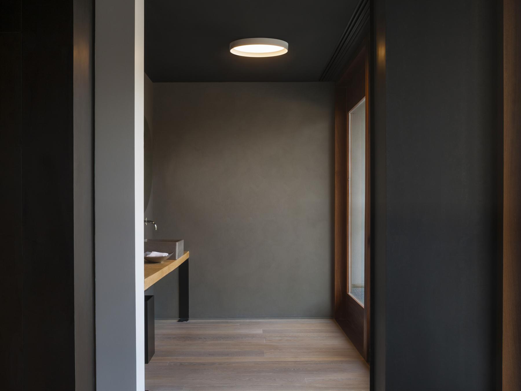 vibia up plafonnier ronde double 2 x plaque 4460 18 l mparas de dise o. Black Bedroom Furniture Sets. Home Design Ideas